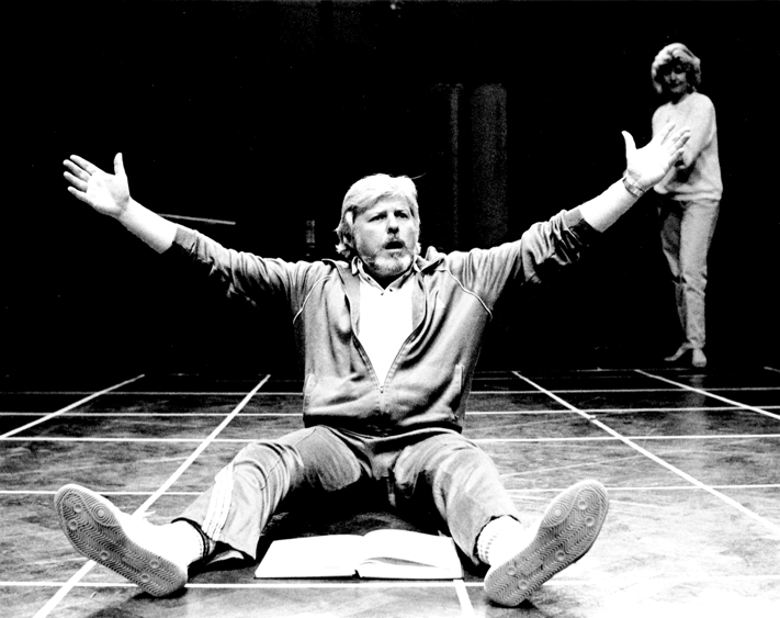 Patrick Wheatley in rehearsal for Falstaff (1987); Photo by Robert Workman